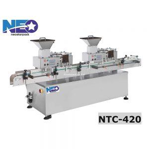 高速膠囊自動數粒機 藥錠自動計數機 NTC-420 新碩達精機股份有限公司