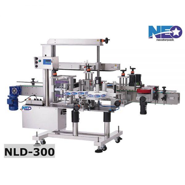 雙面側貼自動貼標機 NLD-300 新碩達