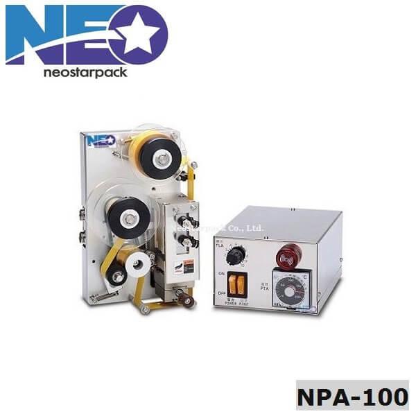 氣壓式 碳帶熱燙印 印字機 NPA-100 新碩達