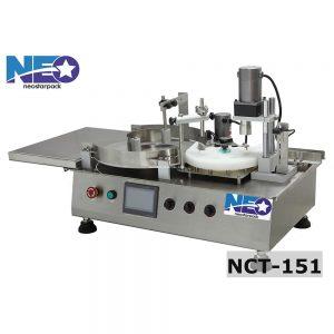 桌上自動充填鎖蓋機生產線 NCT-151 新碩達