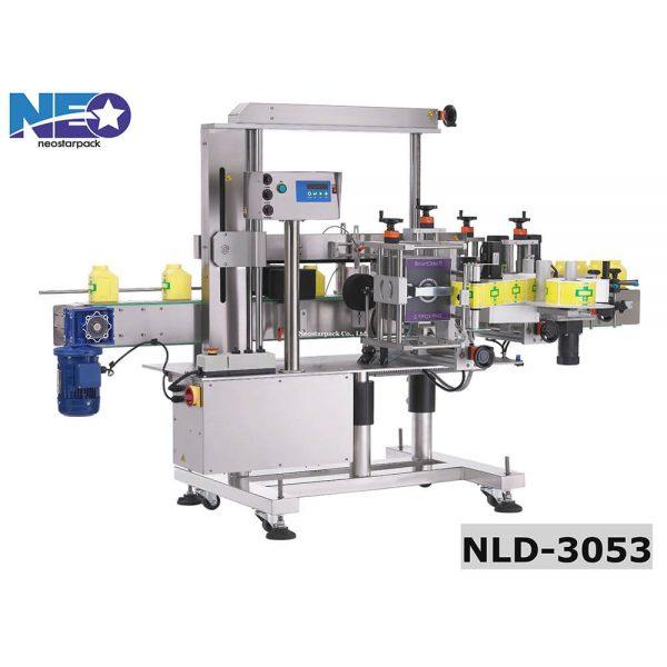 自動方瓶三面貼貼標機 NLD-3053 新碩達