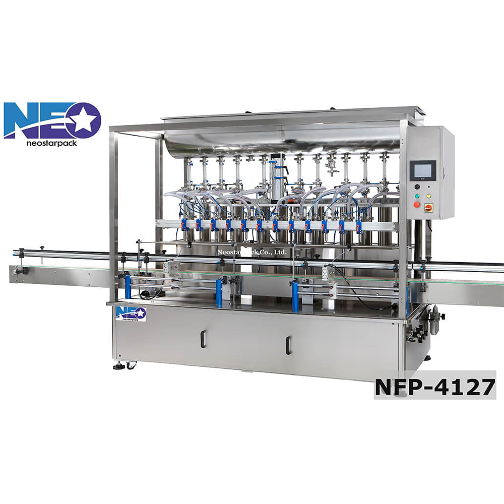 氣壓式全自動高速充填機、全自動高速液體充填機