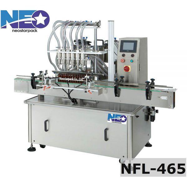 液位式六頭自動充填機 NFL-465 新碩達精機股份有限公司