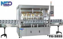 全罩自動計量液體充填機 FG-585S-新碩達精機股份有限公司