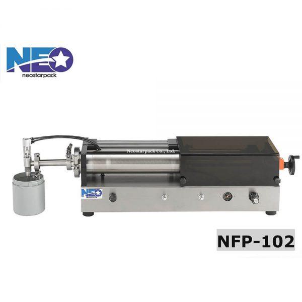 大容量液體充填機 NFP-102-新碩達精機股份有限公司