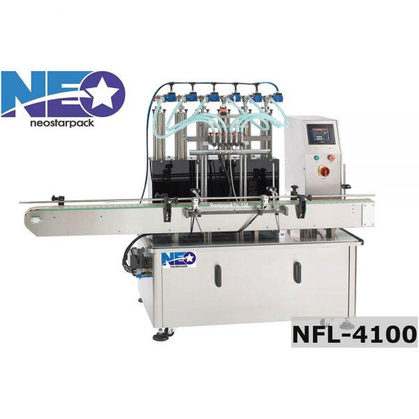 自動多頭液體充填機, 液位式控制 NFL-4100