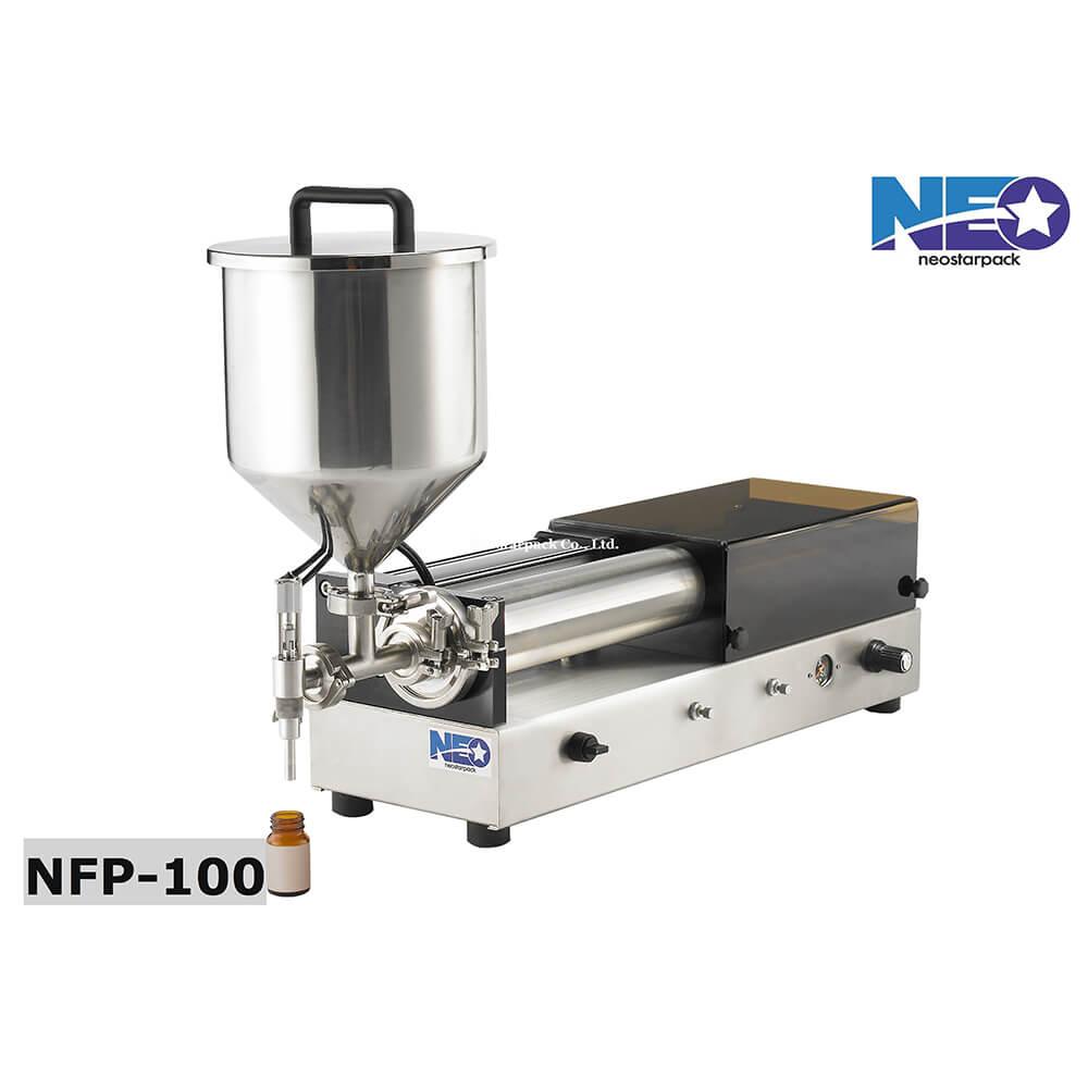 桌上型高黏稠定量液體充填機 NFP-100 新碩達精機股份有限公司