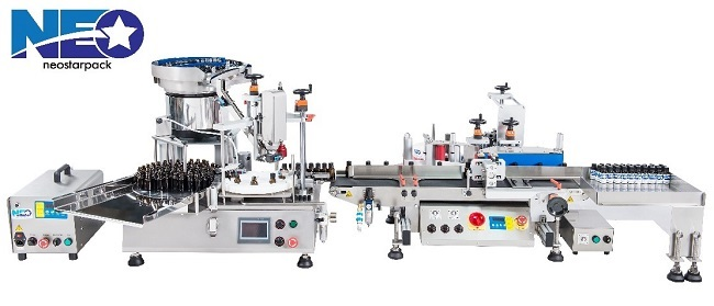 small liquid filler production line